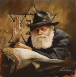 "Chabad Lubavitch 15""x15"" - Sold"