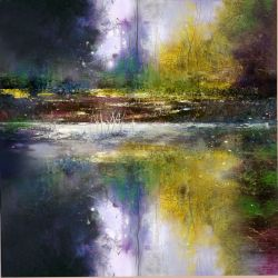 """Spring frost 30""""x30"""" - Sold"""